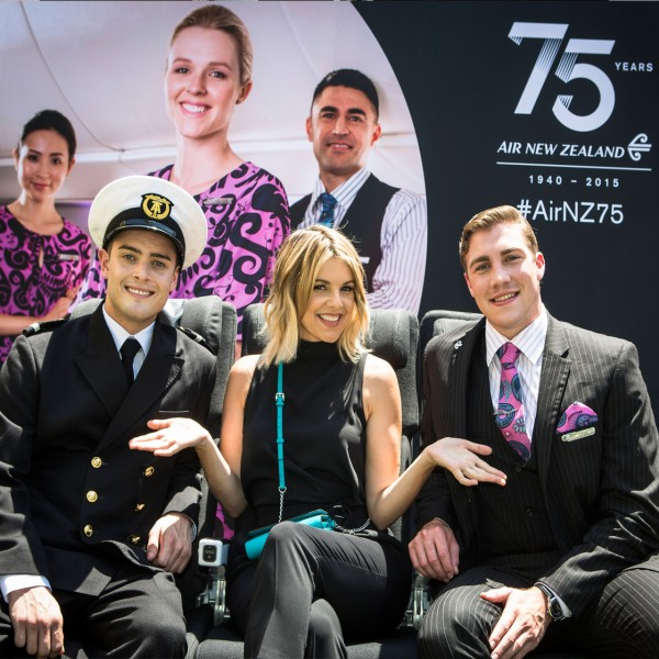 Air New ZealandAli Fedotowsky